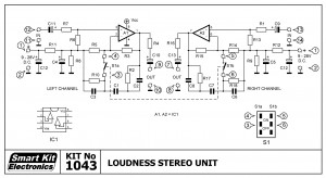 KIT No.1043 ΒΑΘΜΙΔΑ LOUDNESS STEREO