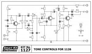 KIT No.1127 Tone Controls For 1126
