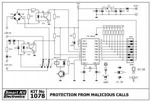 KIT No.1078 Προστασία από κακόβουλες κλήσεις
