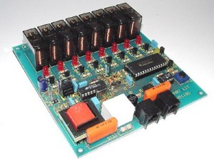 KIT No.1186 8-ch Telecontrol via Telephone - Assembled