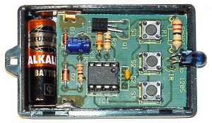 KIT No.1205 3-Channel Infrared Remote Control - Assembled